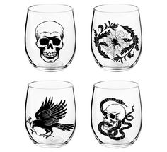 Stemless Wine Glasses - ELLEDecor.com