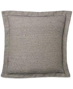 Ralph Lauren Joelle Stripe European Sham - Bedding Collections - Bed & Bath - Macy's
