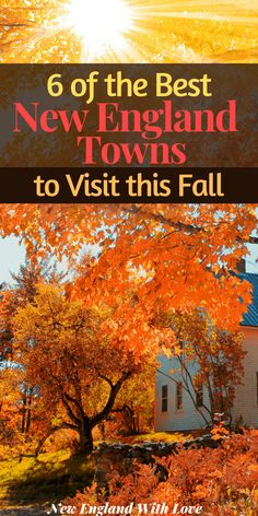 New England States, New England Travel, Weekend Trips, Day Trips, New England Fall Foliage, Fall Vacations, Dream Vacations, Vacation Spots, Vacation Places