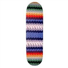 Inspiration: A Roundup of Crochet Skateboards