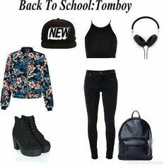 #tomboy #tomboyfashion #outfit #style #tomboystyle
