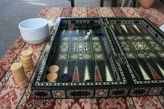 Gorgeous oriental tabula board.