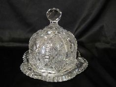 A personal favorite from my Etsy shop https://www.etsy.com/listing/266546945/beautiful-vintage-cut-crystal-cheese