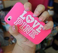 Immagine di love, pink, and iphone