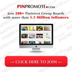 http://pinpromote.com/pinterest-group-board-invitations Join 200+ Pinterest Contributor Boards with Over 1.3 Million Followers and increase your traffic in any niche: pinpromote.com/... #pinterest #marketing #group #groupboards #invite #invitations #awesome #follow #followers #followback #contributor #traffic #niche #seo #marketing #pinpromote