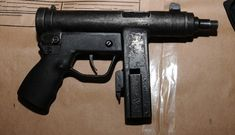 Unknown submachine gun with fake markings seized in Europe | Armament Research Services