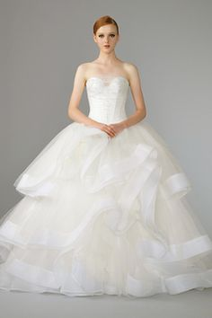 Wedding Gown by La Belle Couture  SingaporeBrides Fall/Winter 2014 Wedding Gown Lookbook