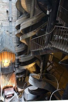 12 Most Fascinating Stairs! Some of them are really jaw-dropping! Would love to walk up and down each of them.. | Femour.com
