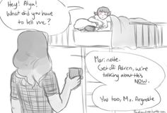 Accidentally slept over :: Credit; Raydrawings :: Part 8