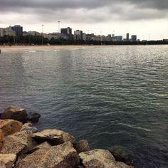 Praia do Flamengo - Baía da Guanabara - Rio de Janeiro - 9:30 #aterrodoflamengo #praiadoflamengo #rio2016 #riodejaneiro #errejota #outono2016