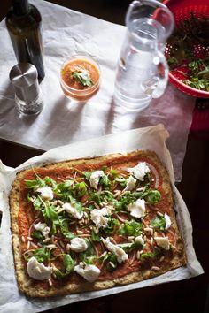 Terveellinen pitsaperjantai: Kukkakaalista pohja