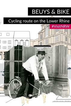 """🚲 Cycling at the Lower Rhine and discovering fascinating places related to the artist Joseph Beuys: This is what the cycling route """"Beuys & Bike"""" promises. #VisitNRW #germany #cycling #lowerrhine #cyclingtour #cyclingvacation #bike #holidays #outdoorexperiences #culture #culturtrip © Hans Lachmann, Archiv der Evangelischen Kirche im Rheinland North Rhine Westphalia, Day Trips, Cycling, Germany, Culture, Partner, Joseph, Spaces, Holidays"""