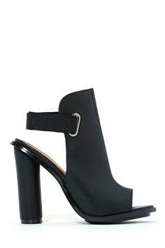 Shoe Cult Shields Up Sandal - Black