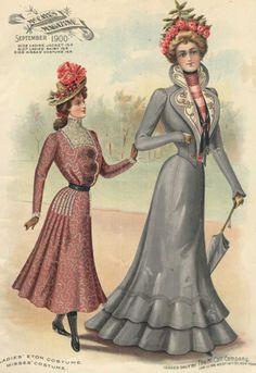 early-1900s Fashion | Fashion Nostalgia – The Early 1900s