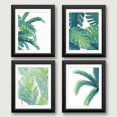 Pulpeuse et vert, ces impressions feuille va vous garder au frais sur même les plus chaudes de la plage. Se détendre dans un hamac…