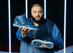 "DJ Khaled and Marcus Jordan Officially Reveal the Air Jordan 16 ""French Blue"" Marcus Jordan, Air Jordan Retro, Dj Khaled, Reebok, Nba, Trophy Rooms, Great Ads, Jordan Model, Newest Jordans"