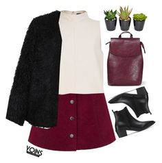 """""""#YOINS"""" by credentovideos ❤ liked on Polyvore featuring TIBI, LE3NO, women's clothing, women's fashion, women, female, woman, misses and juniors"""