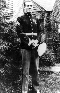 Sgt Clyde Thomason was posthumously decorated with the Medal of Honor for his leadership in turning back a Japanese counter attack during the Makin raid. He was the first enlisted Marine so decorated in World War II.
