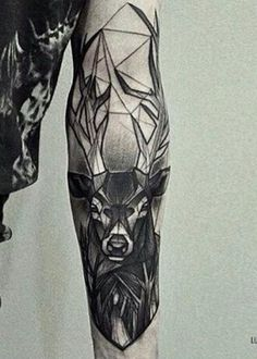 Tatoo, deer