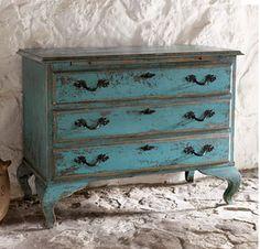 turquoise dresser for baby girl's room