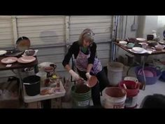 Glazing Techniques with Chic Lotz - YouTube