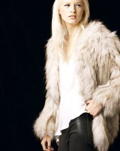 Fur and Leather. A must this fall.