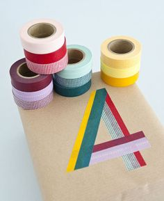 Good ideas to hand make with washi tape