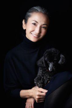 Mayuko Miyahara Grayhair.Style #afternoonoflife #grayhair #greyhair