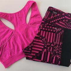 Nike | Pink Geometric Dri-Fit Pants | Size: S Nike | Pink Geometric Dri-Fit Pants | Size: S | Great Condition | Adjustable Elastic Waist | No damage or wear | Pet/Smoke Free Home | True to Size | 77% Nylon | 23% Spandex Nike Pants Leggings