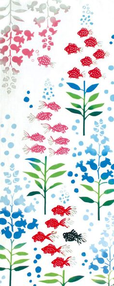 Kenema - Suichu Kingyosou (The dyed Tenugui)