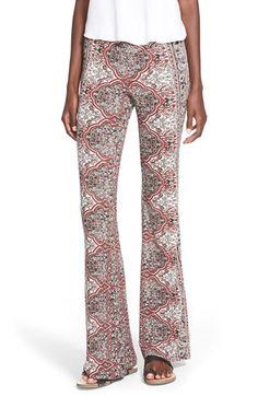 Billabong 'Mirror Mirror' Print Flare Pants