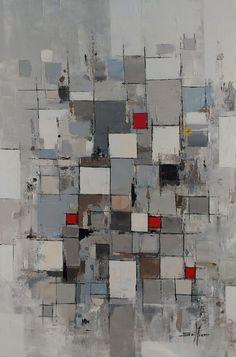 Sérénité... (Peinture), 60x90x1,7 cm par Faho