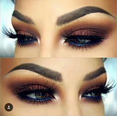 Gorgeous fall makeup look