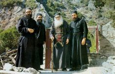 """""""Having a peaceful and serene mind depends entirely on you. It does not depend on temptations or your fellow struggler's behavior. You yourself will be responsible for your salvation. When you long for your salvation and struggle hard, then the outcome will be according to your wish...""""  Elder Ephraim of Katounakia"""