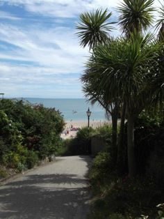 ~ view to the beach ~ Tenby ~ Pembrokeshire ~ Wales ~ UK ~