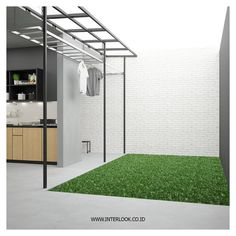 We'll give to you the Minimalist living room tomake your home better with the design you've never seen before. Take a look and enjoy the inspiring design Laundry Room Layouts, Laundry Room Organization, Home Garden Design, House Design, Outdoor Laundry Area, Living Room Without Sofa, Diy Projects Apartment, Drying Room, Dirty Kitchen