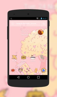 """""""All You Need Is Love"""" Android Theme. Free download  http://androidlooks.com/theme/t2174-all-you-need-love/    #android, #androidTheme, #love, #cartoon, #cute, #apusLauncher"""
