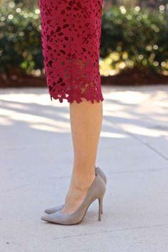 chicwish lace cutout