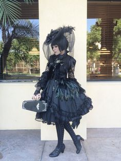 Marie's Cadaver- My outfit for the Bats Day Black Market!