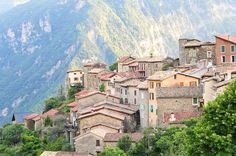 Marie, village in the mountains, north of Nizza