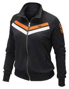 SF Giants Women's Nike Black Cooperstown AD track Jacket