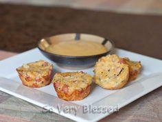 Ham and Cheese Stuffed Quinoa Bites - Foodista.com