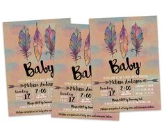 printable boho baby shower invitation tribal invitations tribal baby shower invite aztec baby shower invitation pow wow baby shower