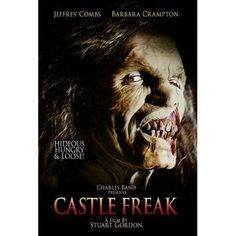 Director Stuart Gordon delivers another chilling tale with CASTLE FREAK. A dysfunctional American family learns that they have inherited a 12th-century Italian castle and travels to visit it. As soon