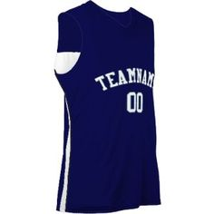 Triple Double PRINTED Reversible Basketball Jersey - Youth & Adult