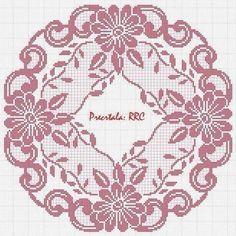 Heklanje Za Tebe I Mene 1689 – Heklanje Irish Crochet Patterns, Filet Crochet Charts, Crochet Lace Edging, Crochet Round, Thread Crochet, Crochet Stitches, Crochet Edgings, Crochet Dollies, Fillet Crochet