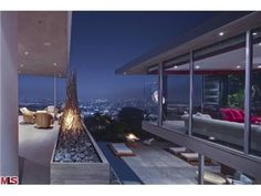 1474 Blue Jay Way, Los Angeles, CA 90069 — Top 5 views in the city, bold yet sophisticated.  Floor to ceiling Fleetwood windows illustrate the most spectacular city to ocean views.  Located on one of the most famous  streets in the Bird Streets.  Architecture as pure Art , an extraordinary interpretation true of California living.