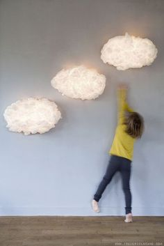 mommo design: clouds & lights