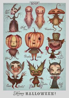 Happy Halloween! print by Vladimir Stankovic