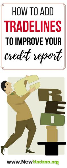 Credit repair companies secret on increasing your credit score is by adding new tradelines every now and then. Find out what tradelines to add to your credit history that will help you improve your credit score.